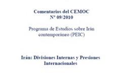 (CAT) (ESP) Irán: Divisiones internas y presiones internacionales (Centro de estudios del Oriente Medio Contemporáneo Buenos Aires)