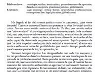 (CAT) (ESP) Sociología jurídica crítica (Boaventura de Sousa Santos)