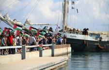 El veler Estelle està a punt d'arribar a Gaza