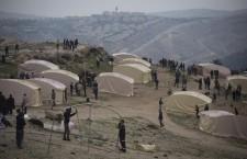 (ESP) El campamento de la Puerta del Sol palestina