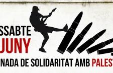 1 de juny: Jornada de Solidaritat amb Palestina
