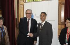 Notícia: UB i Al-Quds University signen un conveni per formar en drets humans i pau