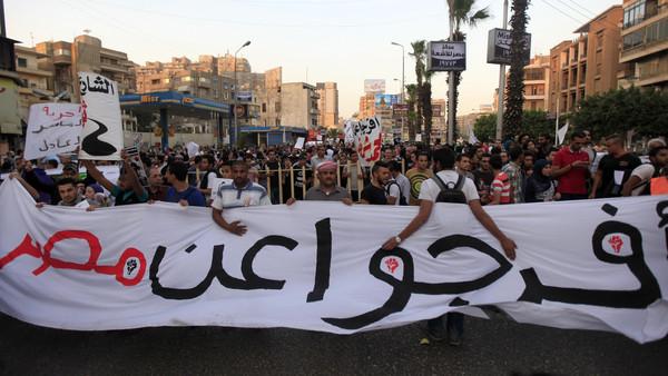 Demonstrators  Egypt