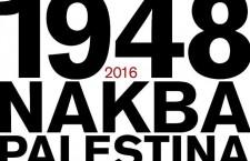Activitats: Nakba 2016. Jornades Resistències contra l'oblit del 11 al 15 de maig