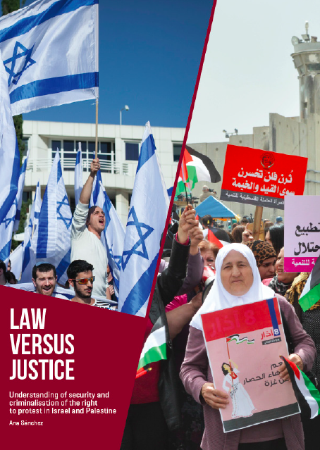 Law versus Justice. Understanding of security and criminalisation of the right to protest in Israel and Palestine