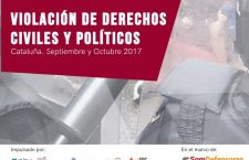 #SomDefensores: Violation of civil and political rights – Catalonia September / October 2017