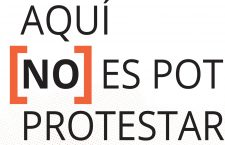 Informe 'Aquí [no] es pot protestar'