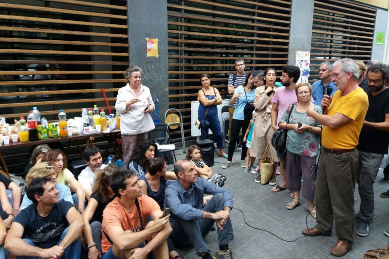 Comunicat: Davant dels fets que vivim a Catalunya, fem noviolència