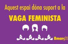 NOVACT dóna suport a la vaga feminista del 8M