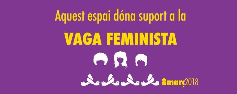 Comunicat: NOVACT dóna suport a la vaga feminista del 8M