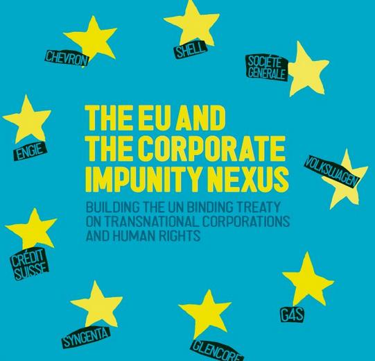 Noticia: Colaborem a l'informe: Nexes entre la UE i la impunitat de les corporacions