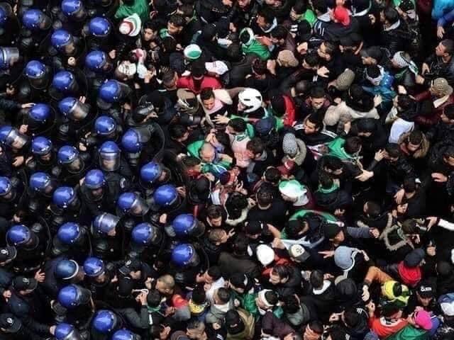 Comunicat: Davant la situació de repressió contra les manifestacions noviolentes dels últims dies a Algèria