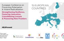 Agenda:  Conferència europea sobre la prevenció de la polarització i la radicalització violenta
