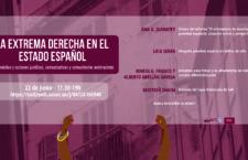 Webinar  La extrema derecha en el estado español: diagnóstico y acciones jurídicas, comunicativas y comunitarias antirracistas